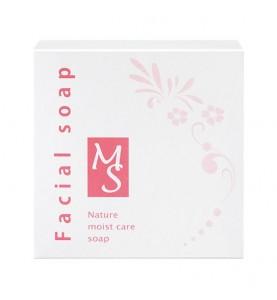 Nаyuta Nature Moist care soap / Твердый кремовый гель в форме мыла, 100 г