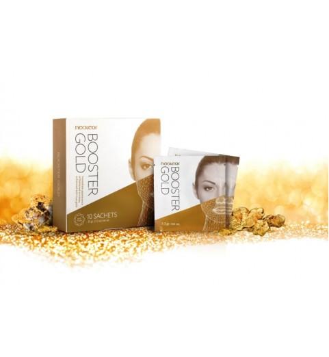 Neoleor Booster Gold Mask / Золотая маска Неолеор Бустер Голд, 10 саше х 3,3 гр
