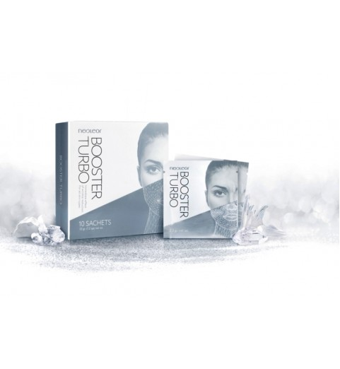 Neoleor Booster Turbo (with hyaluronic acid) / Маска Неолеор Бустер Турбо, 10 саше х 3,3 гр