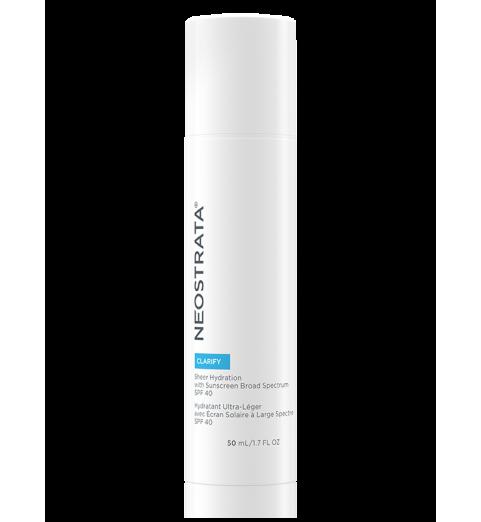 NeoStrata (НеоСтрата) Sheer Hydration SPF 40 / Увлажняющий гель для жирной кожи SPF 40, 50 мл