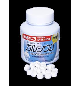 "Orihiro (Орихиро) БАД ""Кальций + Витамин D со вуксом йогурта"" 180 таблеток"