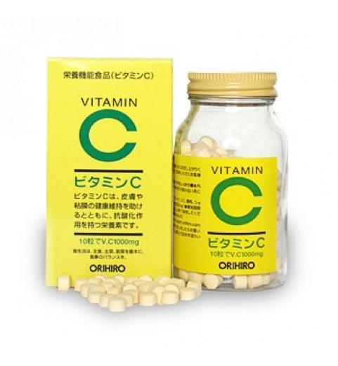 """Orihiro (Орихиро) БАД """"Витамин С"""", 300 гранул"""