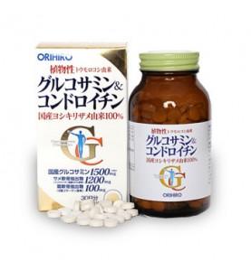 """Orihiro (Орихиро) БАД """"Глюкозамин и хондроитин"""", 360 таблеток"""