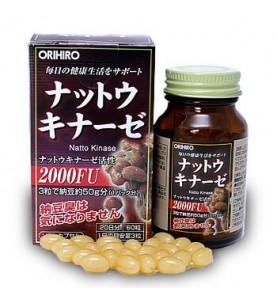 "Orihiro (Орихиро) БАД ""Натто Киназа"", 60 капсул"