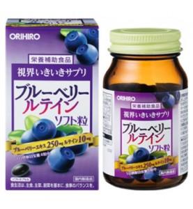 """Orihiro (Орихиро) БАД """"Витаминный комплекс с экстрактом черники"""", 120 капсул"""