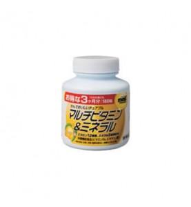 """Orihiro (Орихиро) БАД """"Мультивитамины и минералы со вкусом манго"""", 180 таблеток"""
