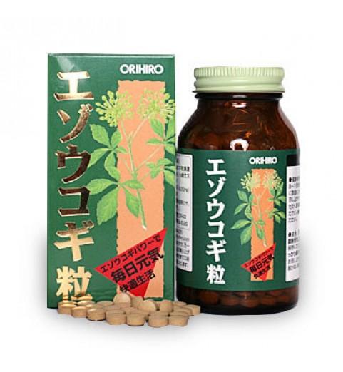 """Orihiro (Орихиро) БАД """"Элеутерококк (Сибирский жень-шень)"""", 400 таблеток"""