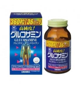 """Orihiro (Орихиро) БАД """"Глюкозамин с хондроитином и витаминами"""", 360 таблеток"""