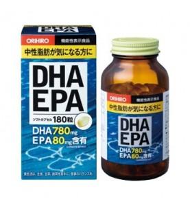 "Orihiro (Орихиро) БАД ""ДГК И ЭПК c витамином Е"", 180 капсул"