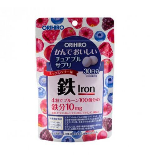 """Orihiro (Орихиро) БАД """"Железо с витаминами"""", 120 таблеток"""