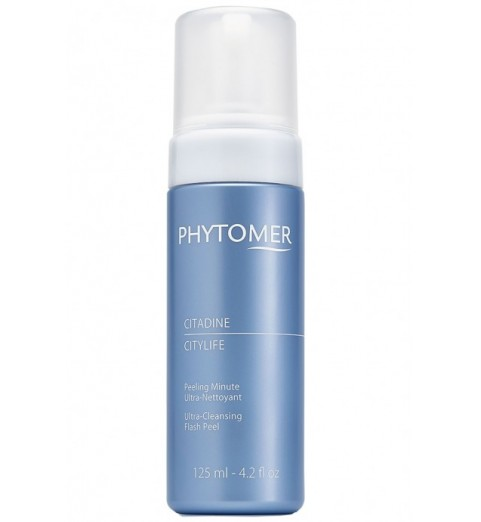 Phytomer (Фитомер) Citylife Ultra-Cleansing Flash Peel / Очищающая пенка «Ситилайф», 125 мл