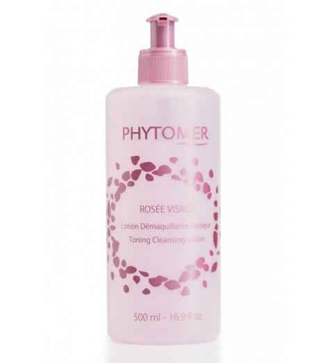 Phytomer (Фитомер) Rosee Visage Toning Cleansing Lotion / Лосьон тонизирующий очищающий Розовая вода, 500 мл