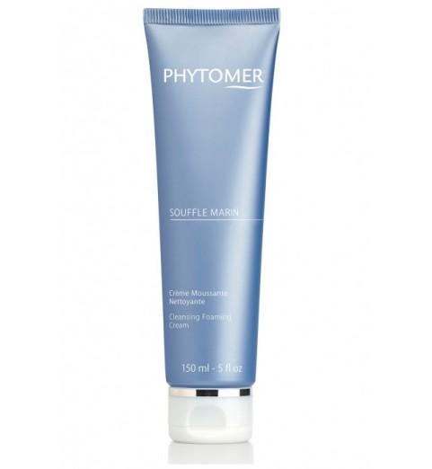 Phytomer (Фитомер) Souffle Marin Cleansing Foaming Cream / Пенка очищающая кислородная, 150 мл