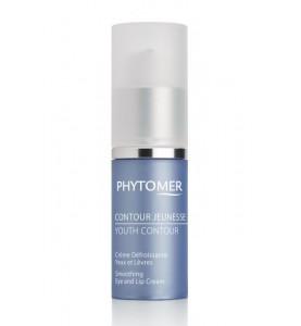 Phytomer (Фитомер) Youth Contour Smoothing Eye And Lips / Восстанавливающий крем от морщин для кожи глаз и губ, 15 мл
