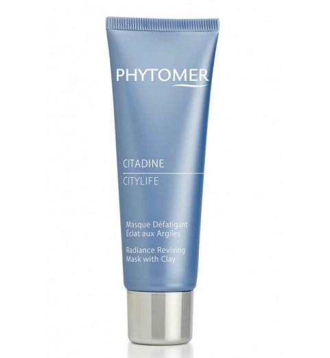 Phytomer (Фитомер) Citylife Radiance Reviving Mask With Clay / Очищающая маска для сияния кожи «Ситилайф», 50 мл