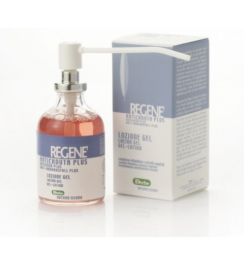 Regene Lozione Gel Anticaduta Plus / Интенсивный лосьон-гель против выпадения волос, 50 мл