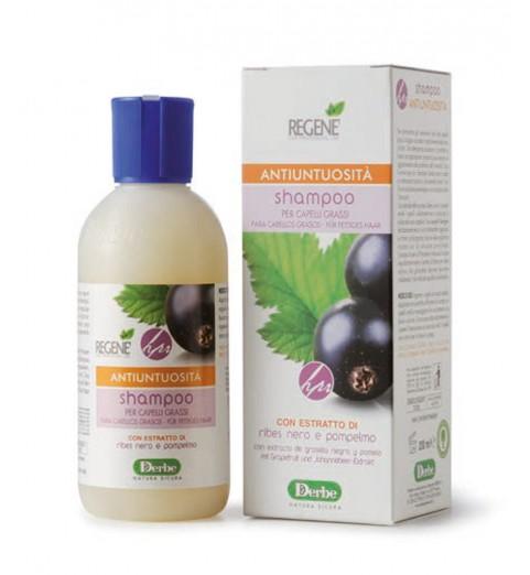 Regene Shampoo Per Capelli Grassi / Шампунь для жирных волос и кожи головы с экстрактом смородины и грейпфрутом, 200 мл