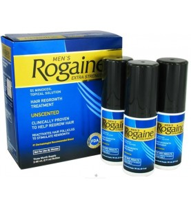 Rogaine Minoxidil 5% (Регейн 5%) Лосьон, 3 х 60 мл