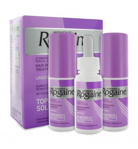 Rogaine Minoxidil 2% (Регейн 2%) Лосьон, 3 х 60 мл