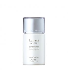 Salon de Flouveil Lunage White UV Cut Essence / Солнцезащитная эссенция Лунаж Вайт SPF 23 PA++, 40 мл