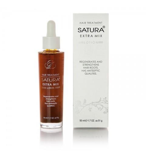 Satura Lotion Extra Mix / Лосьон Сатура для восстановления и укрепления корней волос, 50 мл