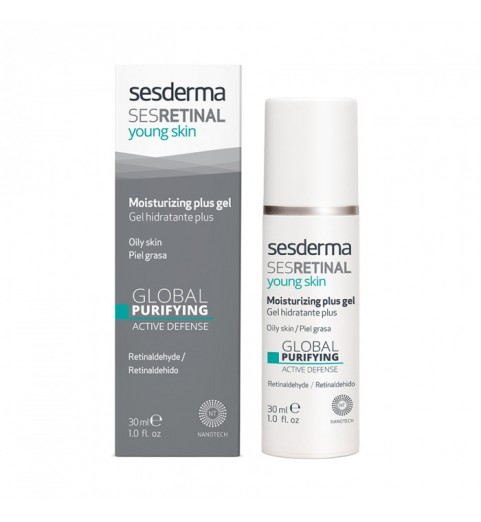 Sesderma Sesretinal Young Skin Moisturizing Gel Plus / Гель интенсивный увлажняющий, 30 мл