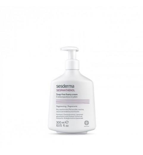 Sesderma Sespanthenol Soap-Free Foamy Cream / Крем-пенка для умывания восстанавливающая, 300 мл