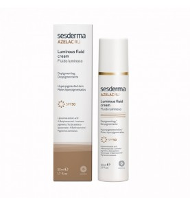 Sesderma Azelac Ru Luminous Fluid Cream SPF 50 / Флюид для сияния кожи c SPF 50 , 50 мл