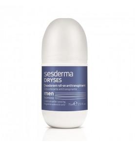 Sesderma Dryses Body Deodorant Antipersperant Roll-On For Men / Дезодорант-антиперспирант для мужчин, 75 мл