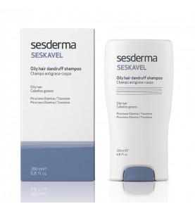 Sesderma Seskavel Oily Hair Dandruff Shampoo / Шампунь против перхоти для жирных волос, 200 мл
