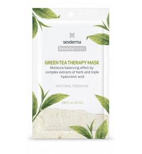 Sesderma Beautytreats Green Tea Therapy Mask / Маска увлажняющая для лица, 25 мл