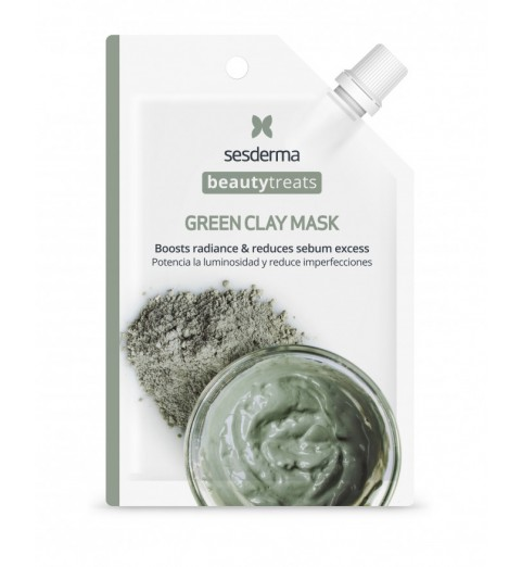 Sesderma Beautytreats Green Clay Mask / Маска глиняная для лица, 25 мл