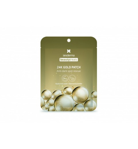 Sesderma Beautytreats 24K Gold Patch / Маска-патч под глаза, 2 шт. в уп.