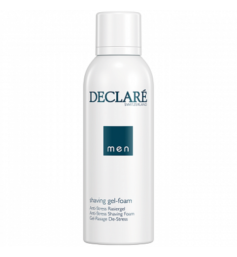 Declare (Декларе) Men Care Shaving gel-foam Anti-Stress /  Пенка-гель для  бритья, 150 мл
