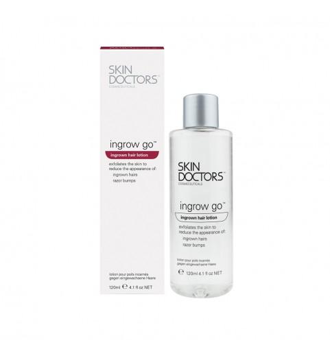 Skin Doctors (Скин Докторс) Ingrow Go / Лосьон для удаления и предотвращения появления вросших волос, 120 мл