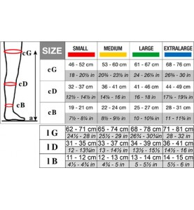 Чулки Solidea Anti-Trombo 15/18mmHg