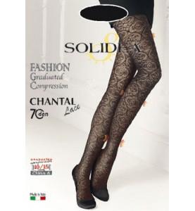 Компрессионные колготки Solidea Chantal 70 Lace 12/15 mmHg