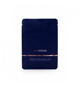 Soonari Premium Peptide Ampoule Mask / Маска антивозрастная, 10 шт.