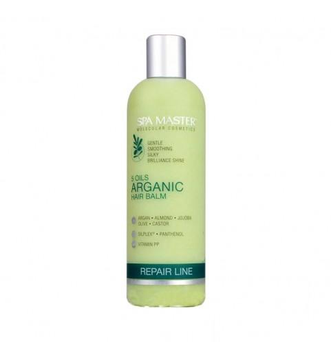 Spa Master 5 Oils Arganic Hair Balm Ph 4,5 / Аргановый бальзам для восстановления волос «5 Масел», 330 мл