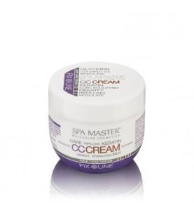Spa Master Hair CC Cream - Keratin Care Cream / Уплотняющий крем для волос средней фиксации с кератином и кокосовым маслом, 100 мл