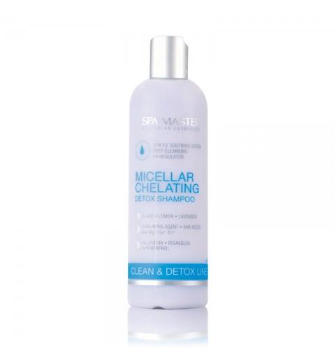 Spa Master Micellar Chelating Detox Shampoo pH 5,5 / Мицеллярный хелатирующий детокс шампунь, 330 мл
