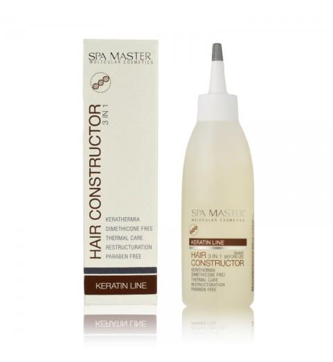 Spa Master Keratin Hair Constructor 3-In-1 / Кератиновый конструктор волос 3-в-1, 150 мл