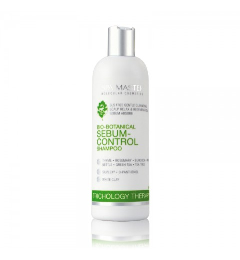 Spa Master Sebum-Control Shampoo pH 5,5 / Шампунь против жирности кожи головы pH 5.5, 330 мл