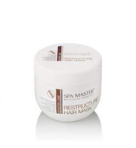 Spa Master Restructure Hair Mask / Реструктурирующая маска с кератином и кокосовым маслом, 500 мл