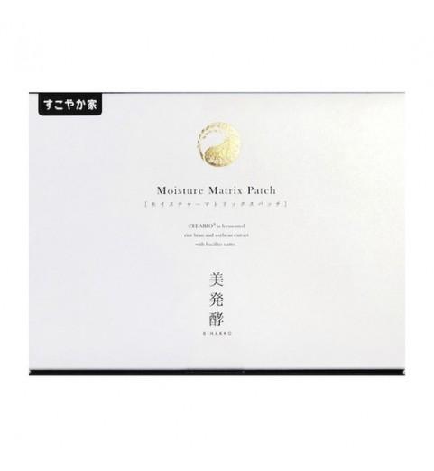 Sukoyaka Moisture Matrix Patch / Увлажняющие гиалуроновые патчи, 10 шт