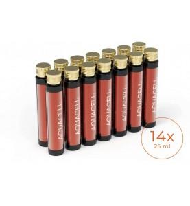 Aquacell Beauty Shorts / Аквацелл Бьюти шотс, витаминный комплекс для кожи, волос и ногтей, 14*25 мл