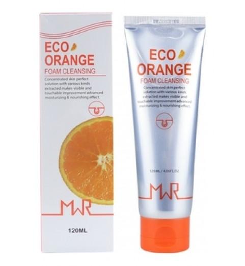 YU.R MWR ECO Orange Foam Cleansing / Очищающая пенка с экстрактом апельсина, 120 мл