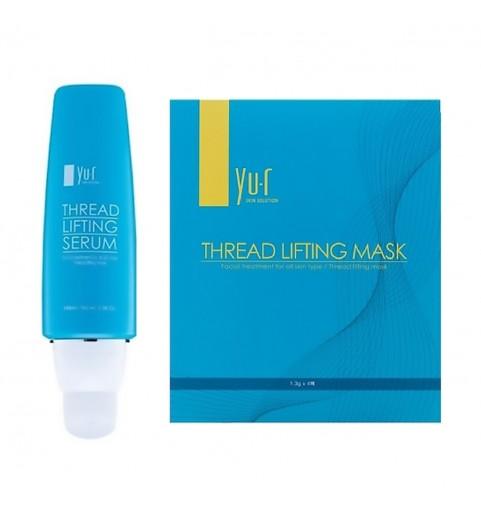 Yu.R Thread Lifting Set №1 / Набор для тредлифтинга (сыворотка + маска 10 шт)